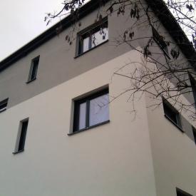 Projekt: 2012-2013: Großes Mehrfamilienhaus mit Weru-Fenstern