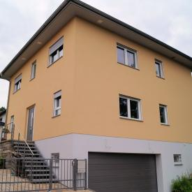 Projekt 2012 mit Weru Afino Tech Fenstern und Rollladen mit Revision aussen.