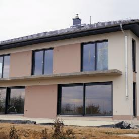 Projekt 2015: Weru Fenster mit 2 Hebeschiebetüren