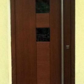 Eichen-Holzhaustüre von Parmax