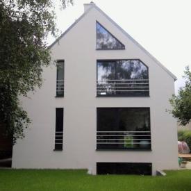 Projekt vor 2012. Holz-Aluminium Fenster
