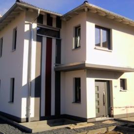 Projekt 2013. Weru Fenster und Inotherm Aluminium Haustüre Architekt: Lutz Stöckigt